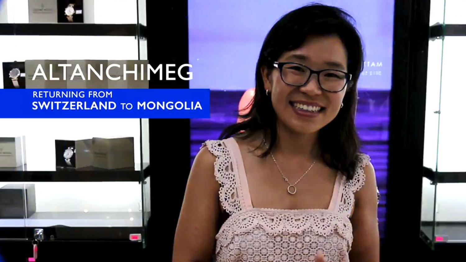 The story of Altanchimeg, Mongolia