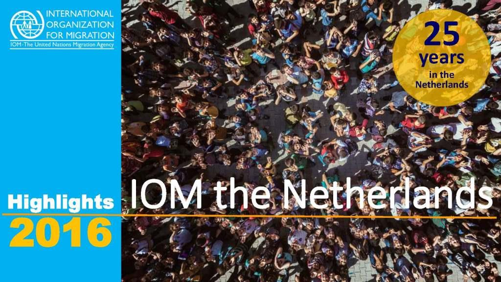 IOM the Netherlands Annual Report 2016 3MB Pagina 01
